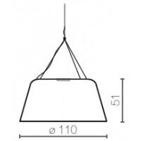 Serralunga Lampa Daria