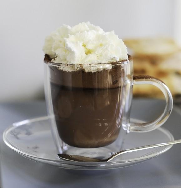 2 dubbelwandige cappuccino mokken