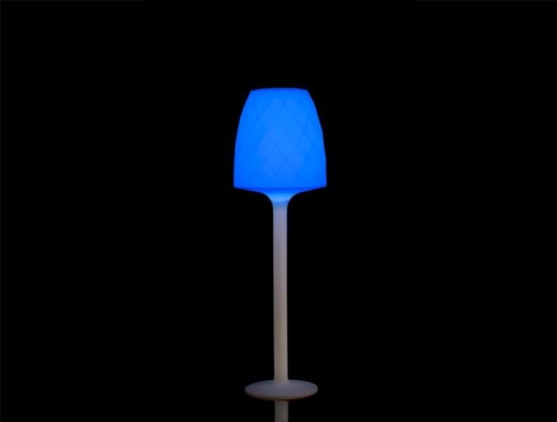 Vondom Vases Lampara de Pie RGB LED Verlicht