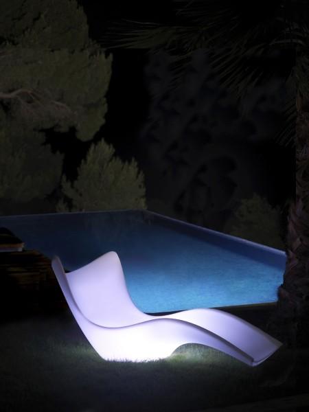 Vondom SURF Sun Lounger Verlicht
