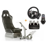 Playseat® Evolution Zwart Race bundel