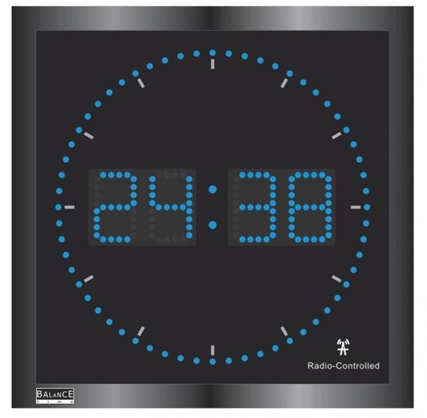 Balance Time Profi LED verlichte klok