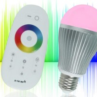 Serralunga RF RGB LED Lamp met Touchscreen Remote
