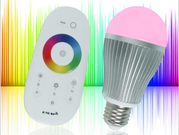 Serralunga RF RGB LED Lamp met Touchscreen Remote