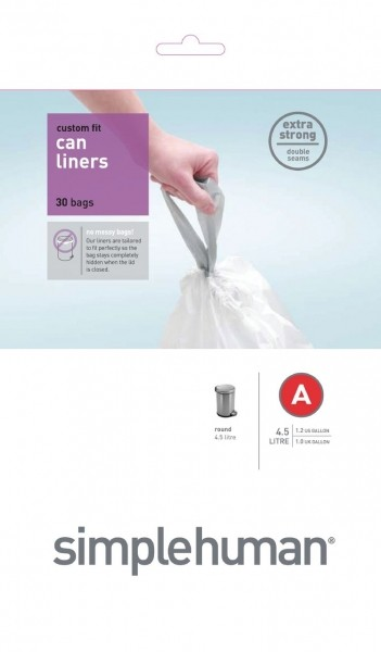 Afvalzakken 4,5 liter (A), Simplehuman