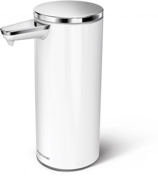 Simplehuman Zeepdispenser Sensor Oplaadbaar 266 ml Wit