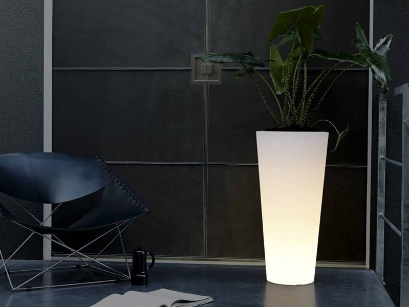 Elho Pure Straight LED High Lichtgevende Plantenbak 40