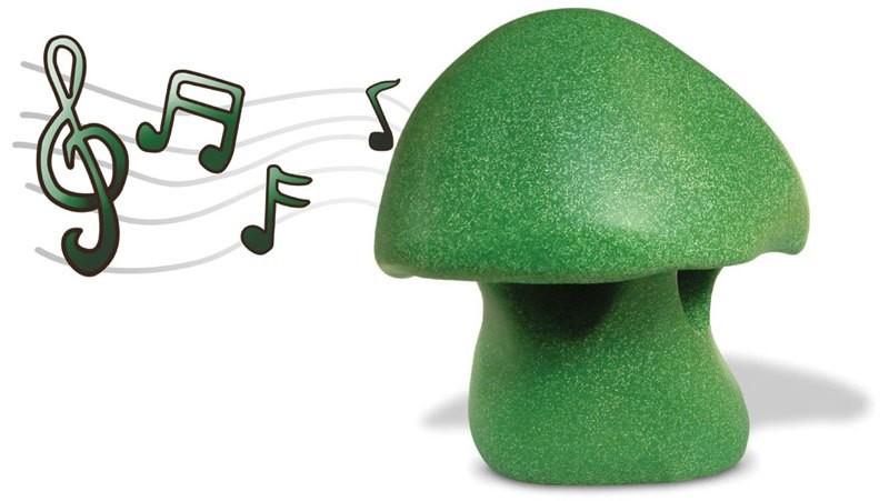 Champignon-speaker