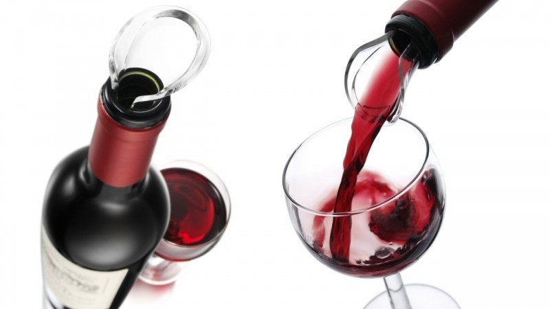 Vacu Vin Wine Server Crystal Box