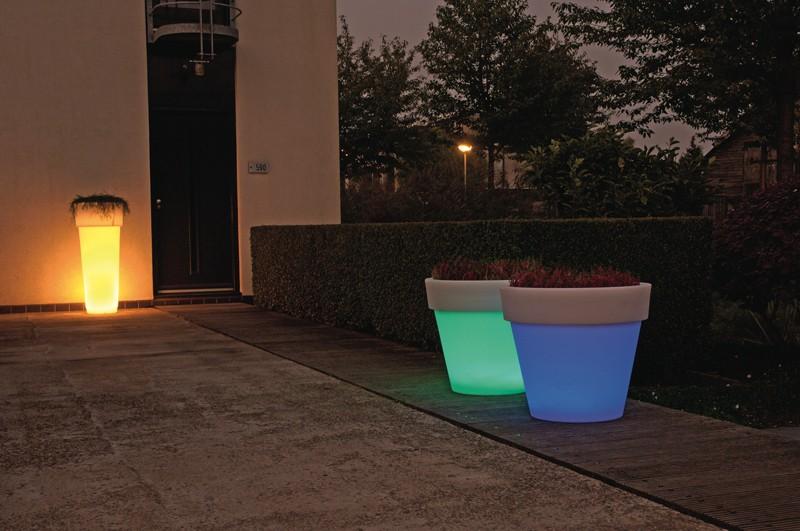 Bloempot Roma 78 LED