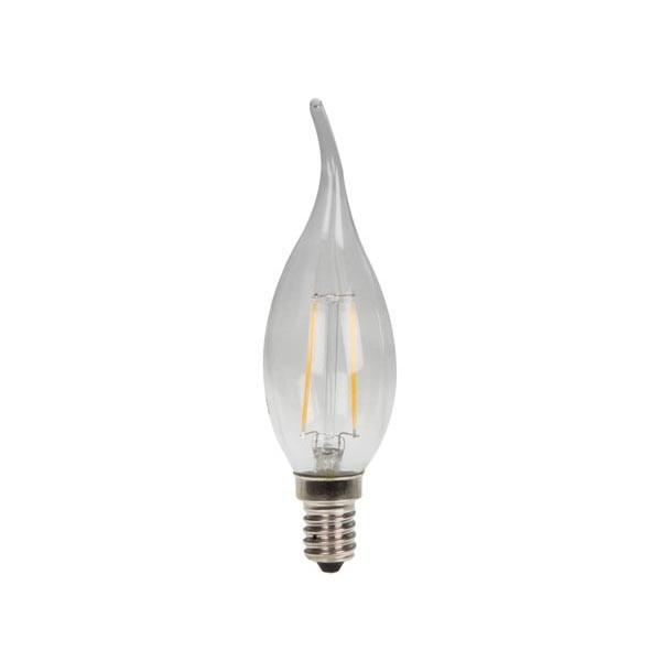 LED Gloeilamp Tipkaarsvorm - E14