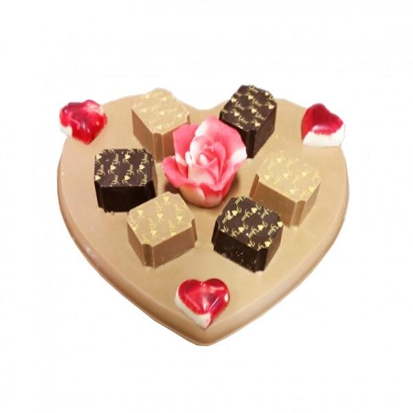 Chocolade Hart Le Bonbon