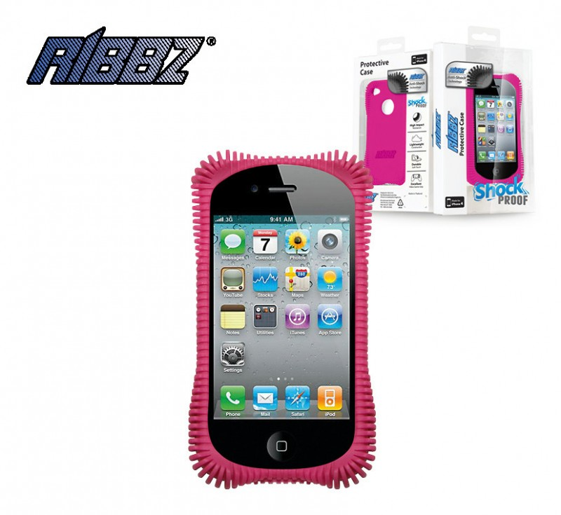 Iphone ribbz pink