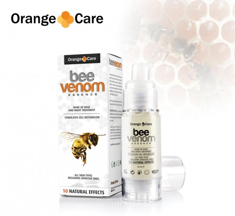 Orange care bee venom serum