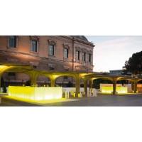 Vondom Vela single bar counter with light
