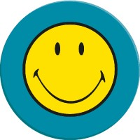 smiley-classic-dinerbord-25-cm - ZK6662-0313
