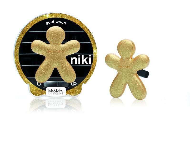 Mr & Mrs Niki Gold Wood