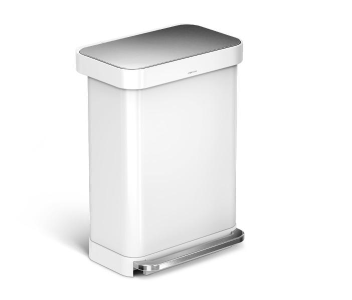 Simplehuman Afvalemmer Liner Pocket 55 liter (wit)