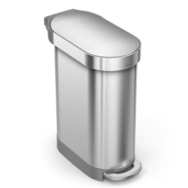 Simplehuman Afvalemmer Slim 45 liter