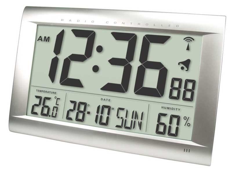 Balance Time Jumbo LCD Klok