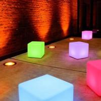 Moree Cube 44 LED Accu indoor/Outdoor
