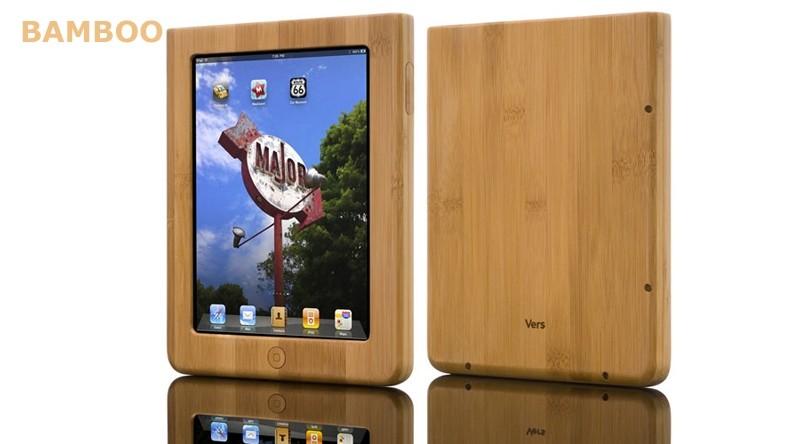 Houten case iPad 1