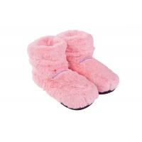 magnetronpantoffels-boots-deluxe-roze-flushy - 6413594