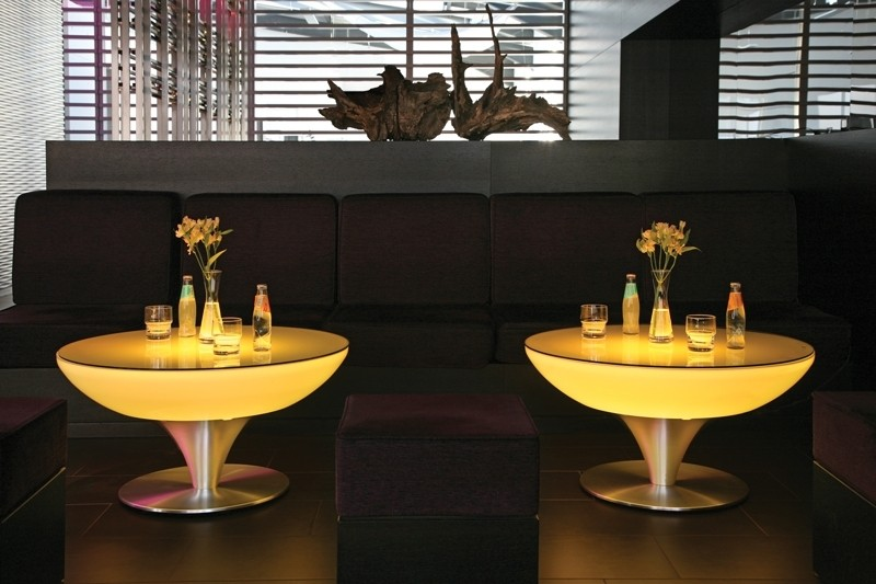 Moree Lounge Table 45 LED Verlicht