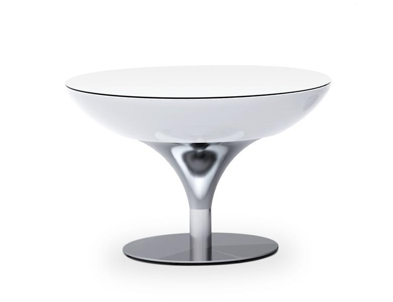 Moree Lounge Table 55 Wit Verlicht