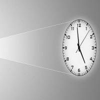Balance Time Analoge Projectie Klok