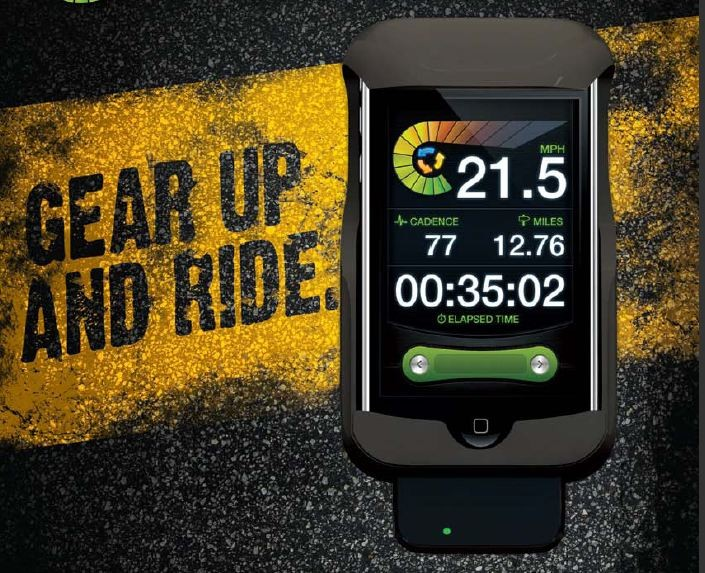 LiveRider fietscomputer voor iPhone/iPod
