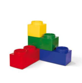 bloembak lego 101 onverlichte bloempotten bloempotten