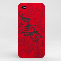iphone4-case-tribal - ICC723RED