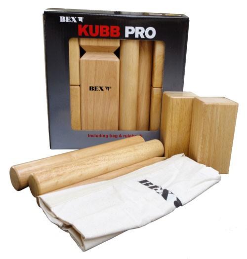 Kubb Pro Rubberhout