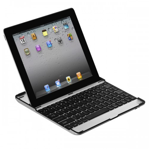 Aluminium Bluetooth Keyboard voor de iPad