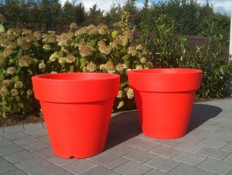 Kunststof Tuin Pot : Bloempot roma 46 onverlicht onverlichte ronde potten tuin