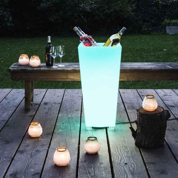 Serralunga Kabin LED verlicht