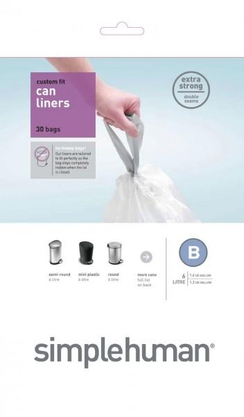 Afvalzakken 6 liter (B), Simplehuman