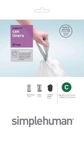 Afvalzakken 10-12 liter (C), Simplehuman