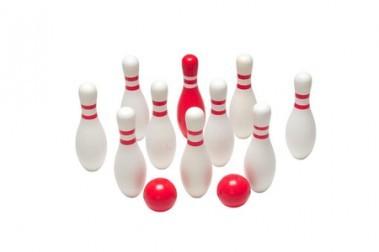Tuin Houten Bowlingset