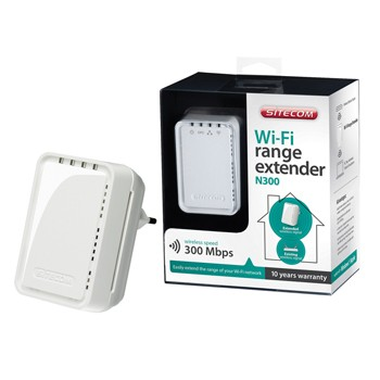 Wi-Fi Wall mount range extender N300