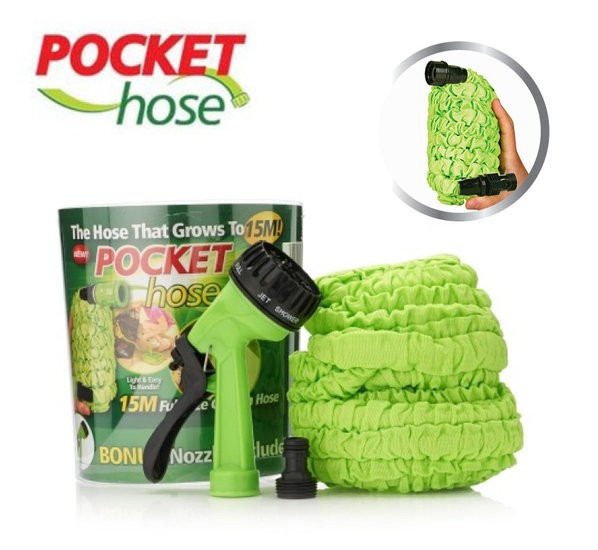 Pocket hose 15m